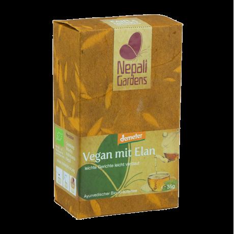 "Nepali Gardens Bio Kräutertee ""Vegan mit Elan"" Demeter"