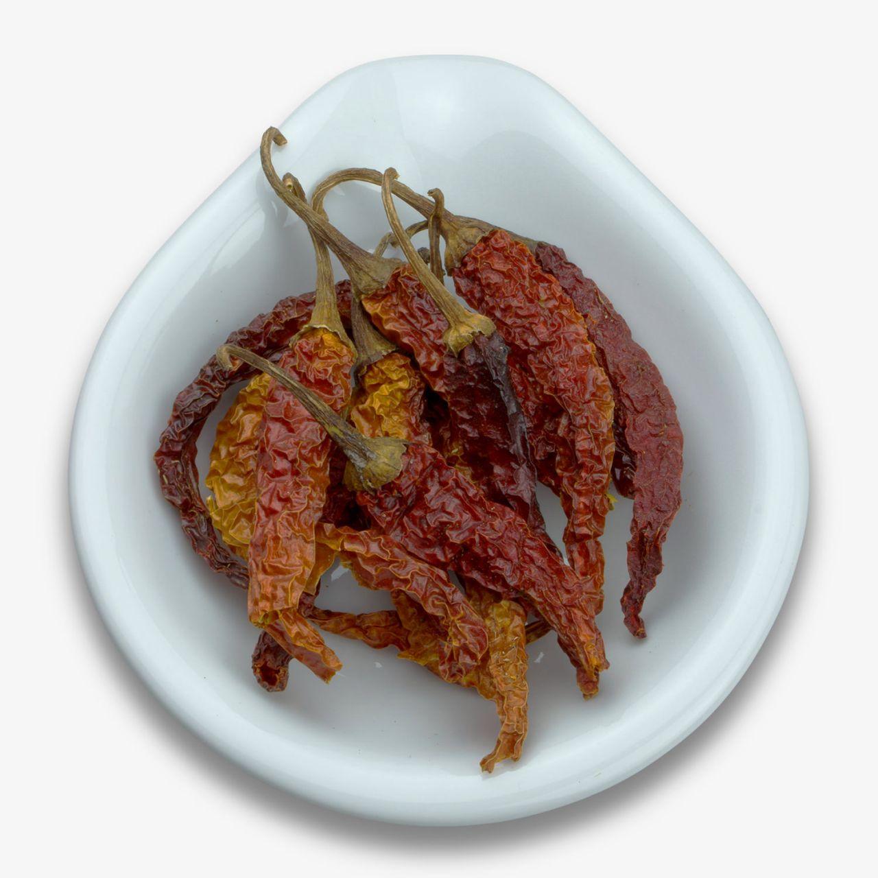 Chili, getrocknete Schoten