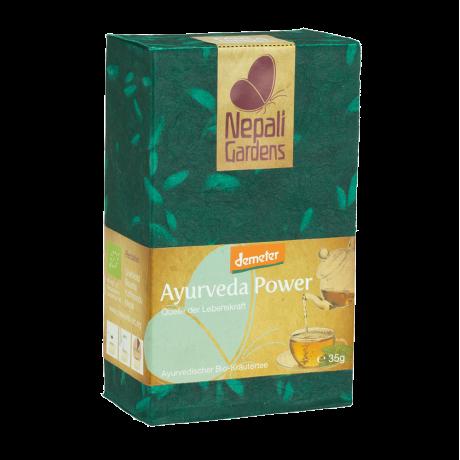 "Nepali Gardens Bio Kräutertee ""Ayurveda Power"" Demeter"