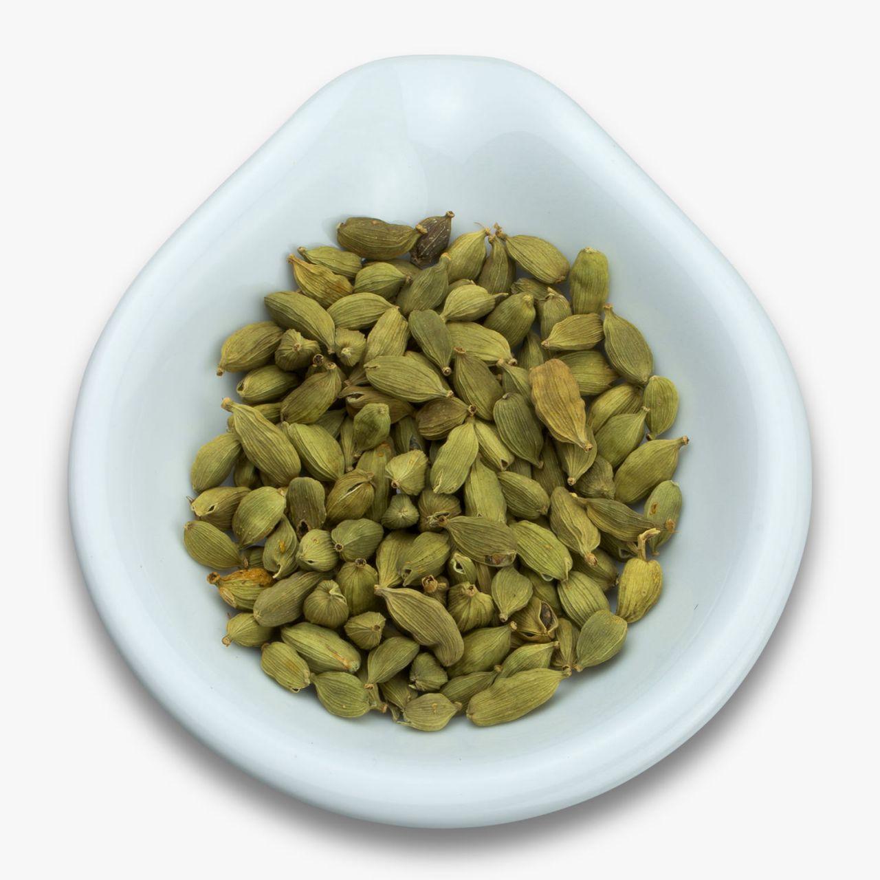 Kardamon grün, ganze Samen