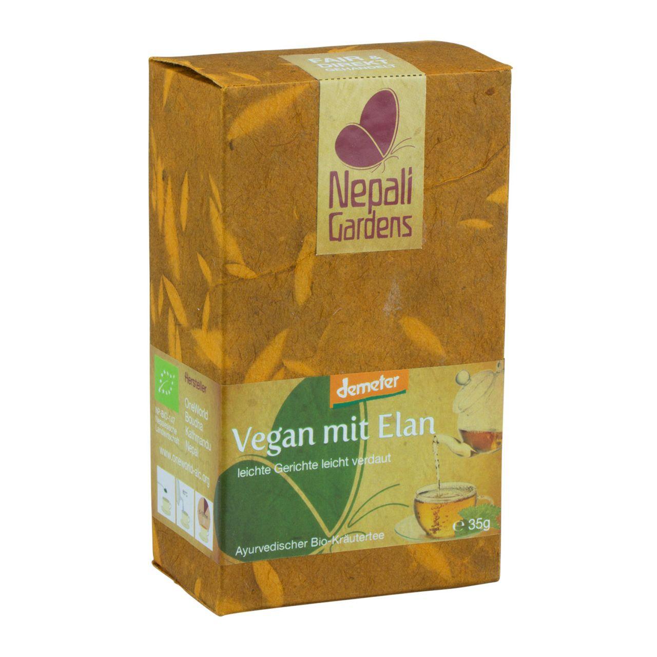 Vegan mit Elan