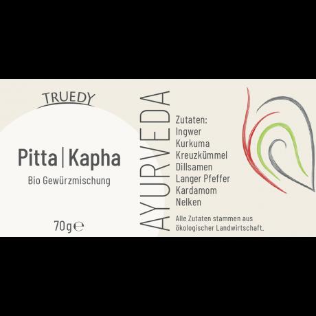 PITTA & KAPHA DOSHA BIO AYURVEDA GEWÜRZ