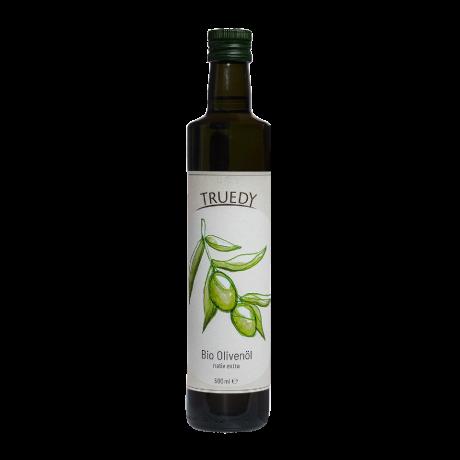 Truedy Bio Olivenöl nativ extra Flasche 500 ml