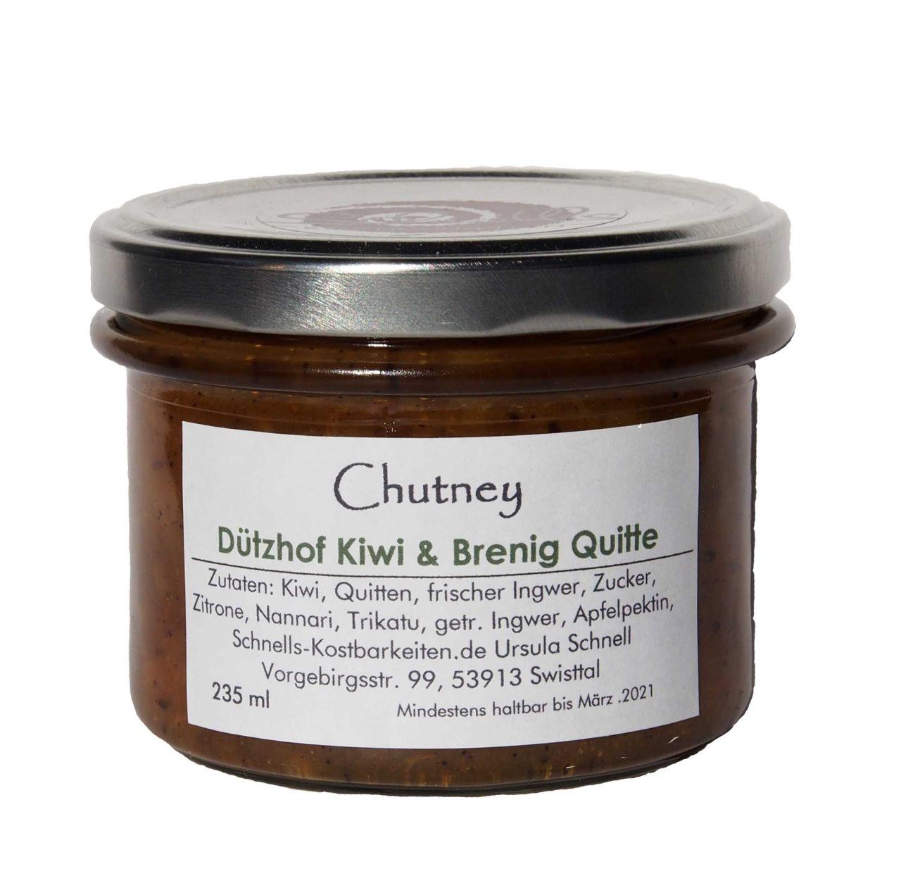 Chutney Dützhof Kiwi & Brenig Quitte